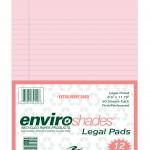 ENVIROSHADES 8.5X11.75 LEGAL 12/PK PINK