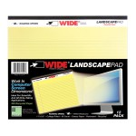 """LANDSCAPE PAD CANARY 11""""x9.5"""" RULED"""