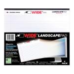 "LANDSCAPE PAD WHITE 11""x9.5"" RLD 2/PK"