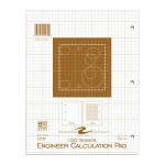 "ENGINEER PAD 8.5""x11"" BUFF"