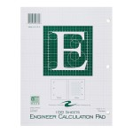 "ENGINEER PAD 8.5""x11"" GREEN"