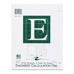 "ENGINEER PAD 8.5""x11"" GREEN"