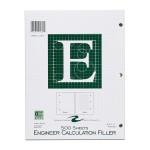 """ENGINEER FILLER 8.5""""x11"""" GREEN"""
