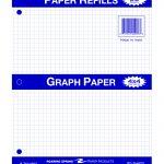 """FILLER PAPER 8.5""""x11"""" 4x4 QUAD"""