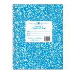 """GRADE TWO NOTEBOOK 10.5"""" x 8"""" BLUE COVER"""
