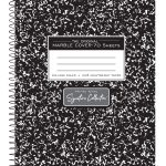 "Wirebound Composition Book - 9.75"" x 7.5"""