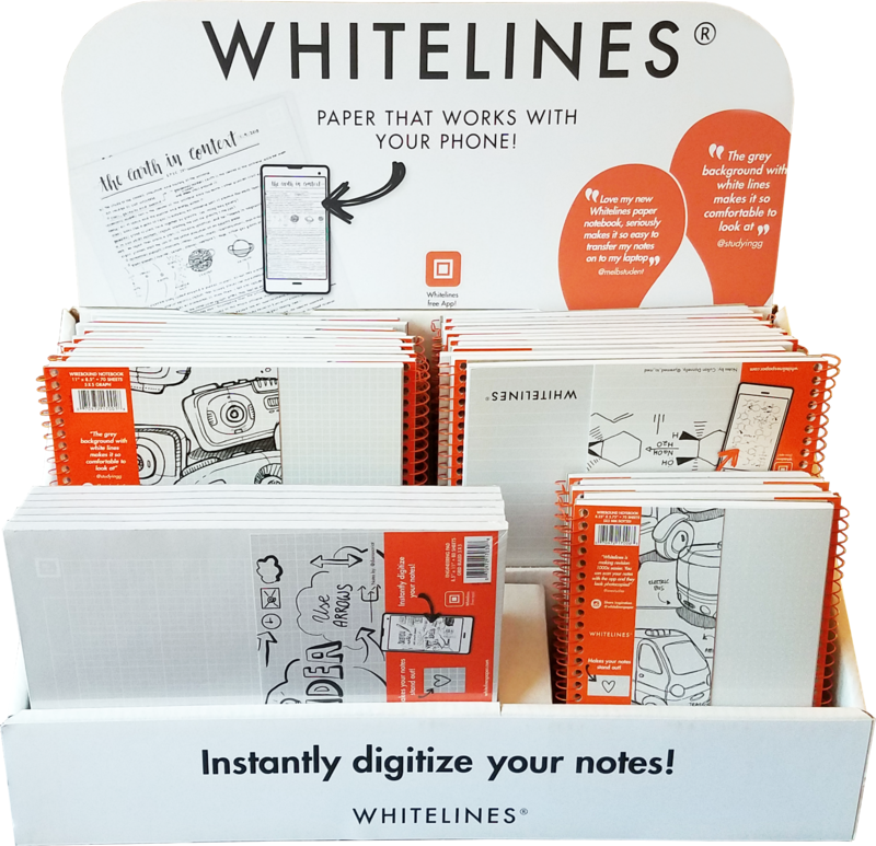 WHITELINES RETAIL DISPLAY