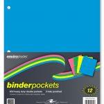 "Roaring Spring Neon Binder Pockets 11"" x 9"""