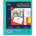 TWIN POCKET VIEW FOLDERS REPORT COVER 11 x 8 1/2