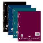 """WB NOTEBOOK 3SUB 10.5""""x8"""" WM"""
