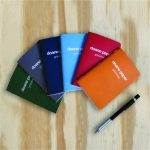 "Doane Paper Small Utility Notebook, Pocket Notebook, Pack of 6 Colors 5.5"" x 3.5"" 24 Sheets per book, 6 Pack, Assorted Colors"