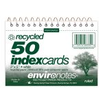 "WB INDEX CARDS 3""x5"" RULED RECYCLED"