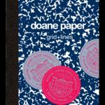 "Doane Paper Composition Book, 9.75"" x 7.5"" 60 Sheets per book, Grid + Lines"